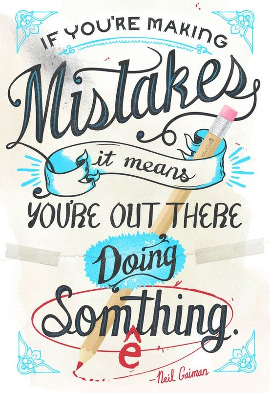 Why making mistakes is not always a bad thing