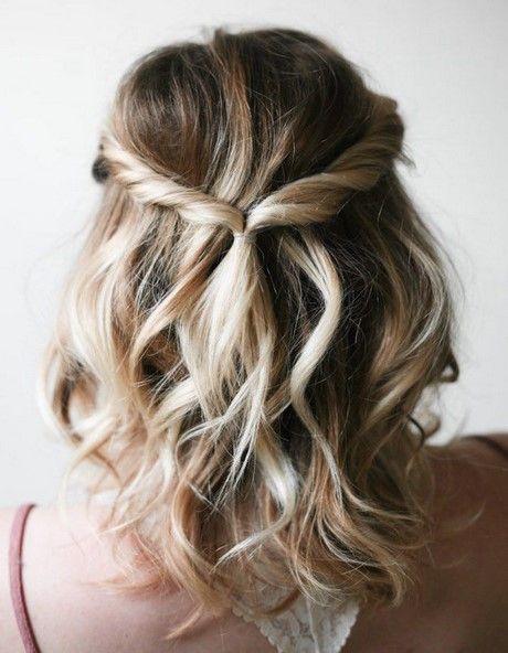 Einfache Schnelle Frisuren Für Kurzes Haar Haare