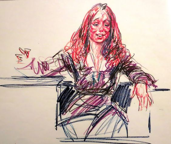 Quote Unquote Lynette Fromme: ILLUSTRATED COURTROOM: August 2013...Squeaky Fromme On The
