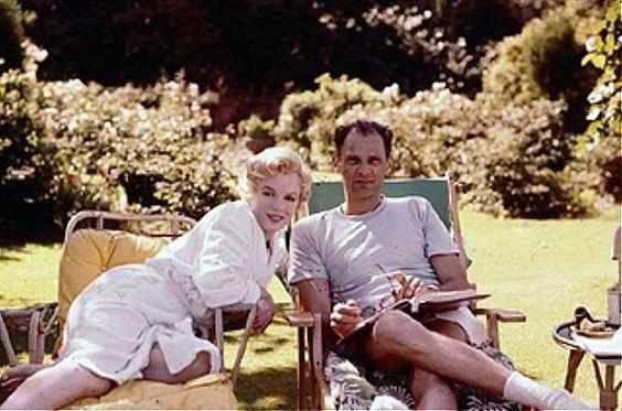 Milton H. Greene Milton H. Greene, Marilyn Monroe, arthur miller