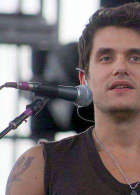 John Mayer at the Mile High Music Festival.