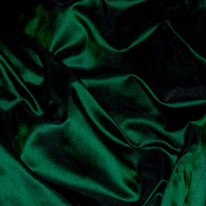 Dark Green Silk Taffeta