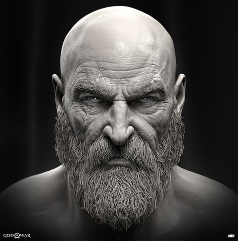Pin By Peter Hanson On Zbrush Models God Of War Zbrush