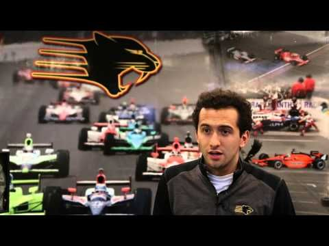 ▶ Catching up with Carlos Huertas, Panther Racing - YouTube