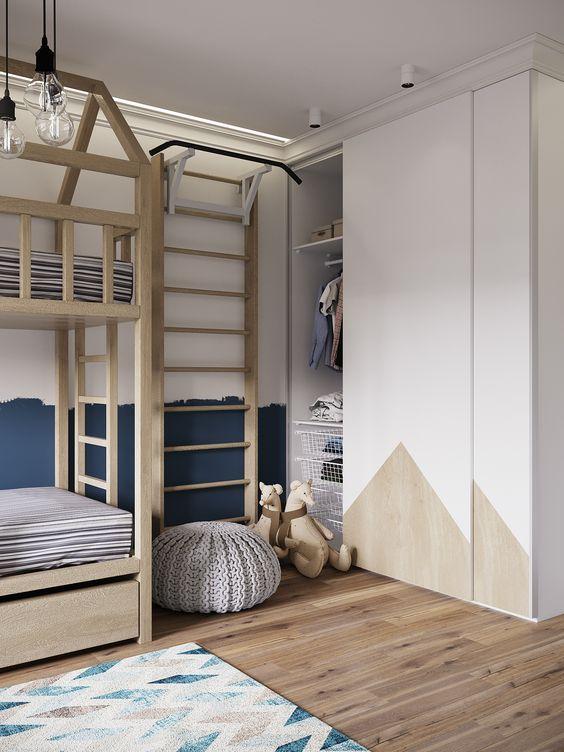 35 Bedroom Wardrobes To Keep Your Room Tidy Bed For Girls Room Kids Room Inspiration Kids Room Design