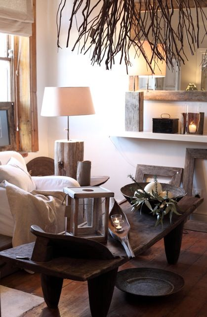 South African Interior Design Love The Wood Bowls And Misc Wood Decor Senufu Coffee Table