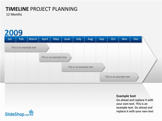 Timeline Project Planning Examples  Templates  OfficeCom