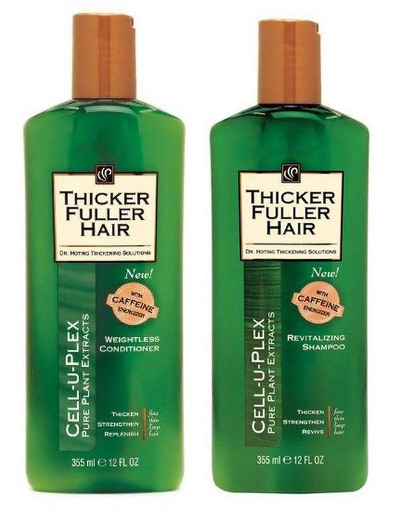 Schwarzkopf Thicker Fuller Hair Shampoo & Conditioner 12 Oz Each Discontinued #Schwarzkopf