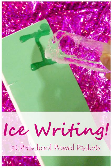 Letter Learning & Spelling With Ice Pens | Activities, Toddler ...