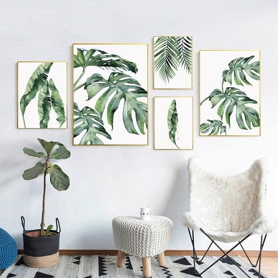 Find Out 15 Scandinavian Hanging Leaf Decoration Ideas To Beautify Your House 123homefurnishings Scandinav Scandinavian Wall Decor Leaf Wall Art Leaf Decor