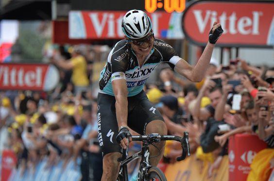 arrivée 4è étape 7 Juillet 2015 Tony Martin Le Tour De France -