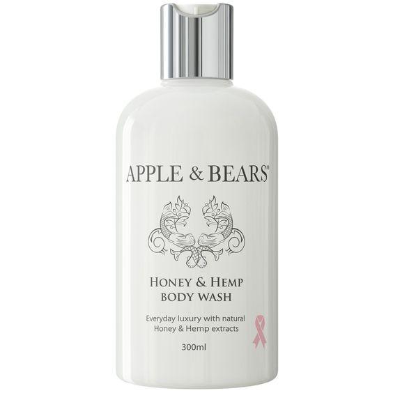 Honey & Hemp Luxury Body Wash