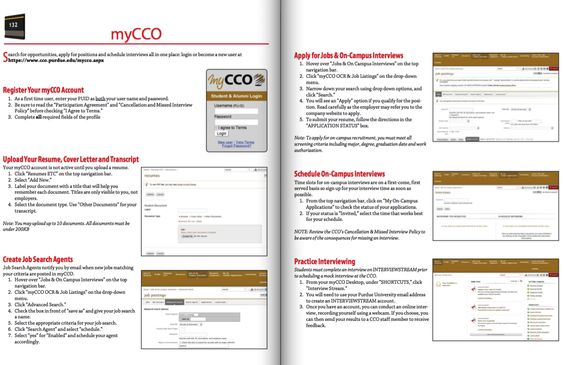 Purdue CCO Resume Login   Http://resumesdesign.com/purdue Cco Resume Login/  | FREE RESUME SAMPLE | Pinterest | Free Resume Samples And Purdue Cco Resume