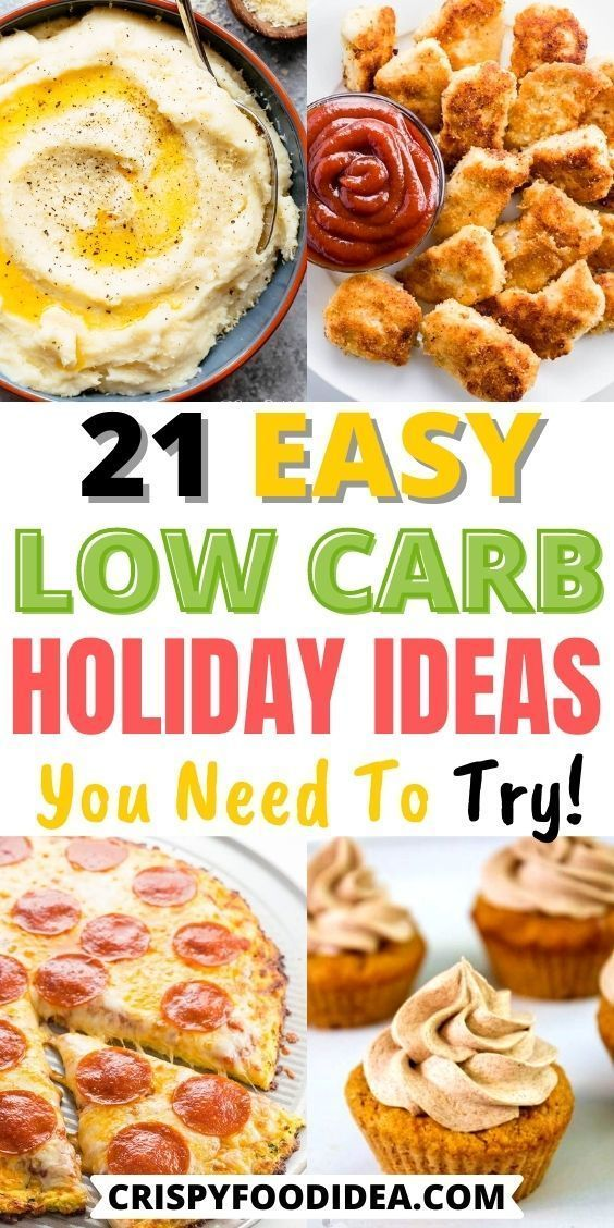 low carb holiday recipes