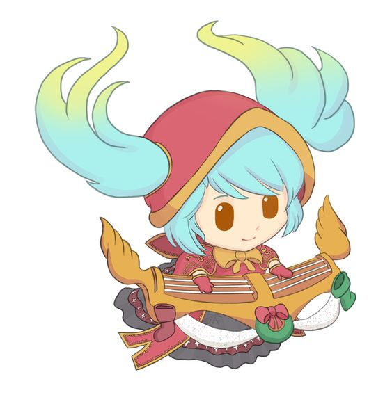 Silent Night Sona Fan Art