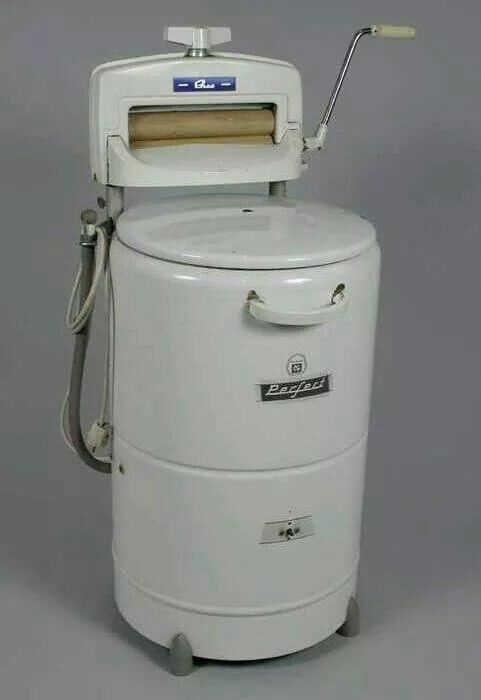 wasmachine met wringer