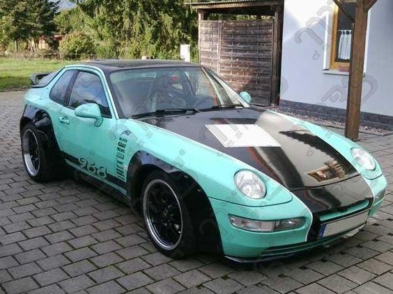 Porsche 968 Verbreiterungen GFK GT2 look Kotflügelverbreiterungen