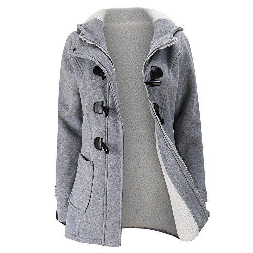 Women Winter Warm Windbreaker Outwear Warm Wool Slim Long Coat Jacket Trench