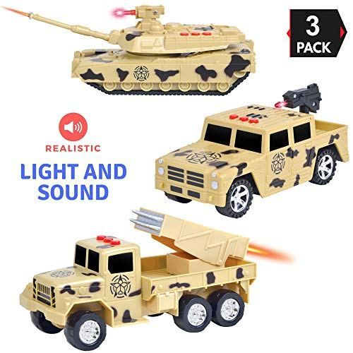 Liberty Imports 3 In 1 True Hero Vehicles Kids Toy Cars Playset