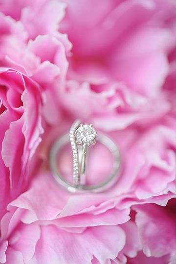 engagement ring + band | Best Photography #wedding
