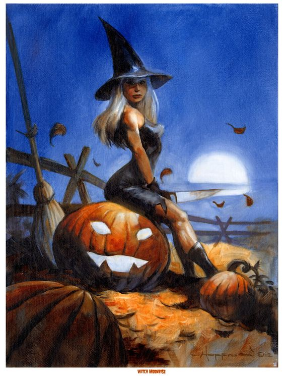Witches by Mike Hoffman