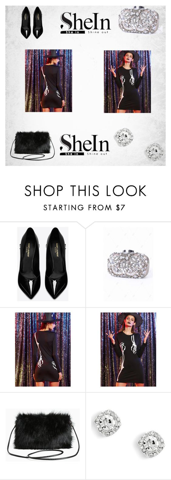 """""""Untitled #3"""" by tetavioletaa ❤ liked on Polyvore featuring Yves Saint Laurent and Torrid"""
