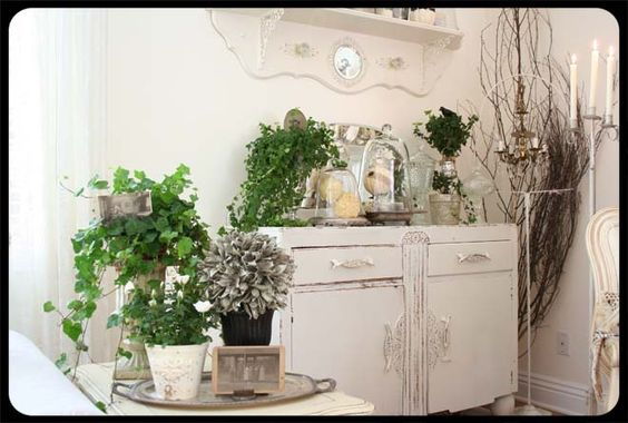 love the white cupboard