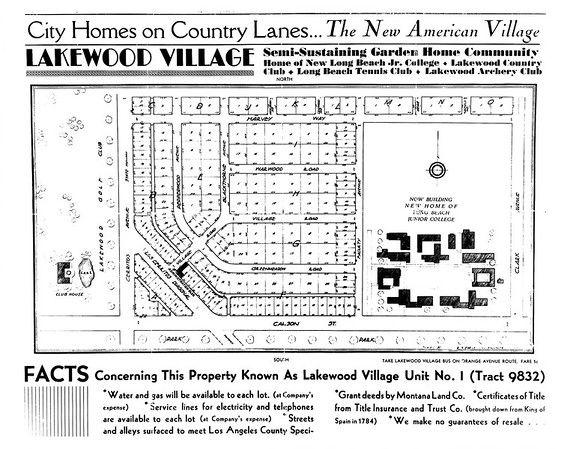 Selling Lakewood Village 1933 In 2020 Lakewood Ca History American Village