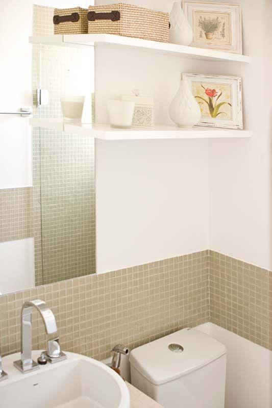 Apartamentos pequenos 320 projetos de profissionais de CasaPRO  Casa  Banh -> Banheiro Pequeno Projetado
