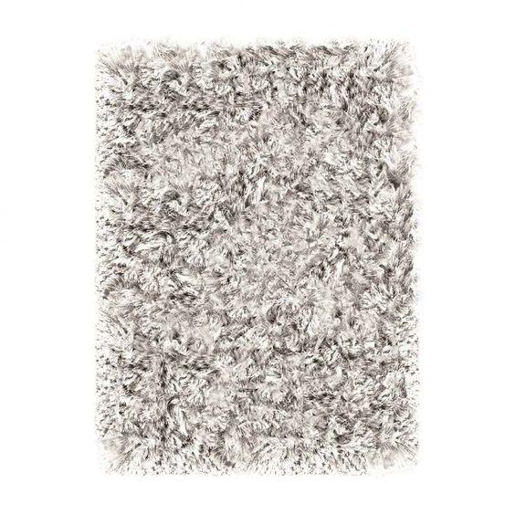 Tapete Shaggy Tufting Joy 150x200 cm Cristal (TAPETE SÃO CARLOS )