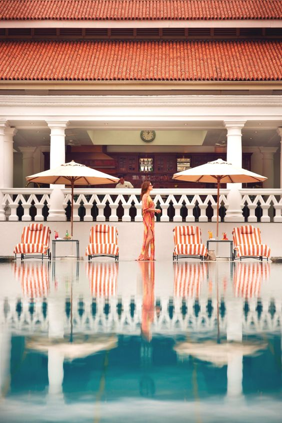 Raffles Hotel, Singapore - let's go on vacation there...... NOW.