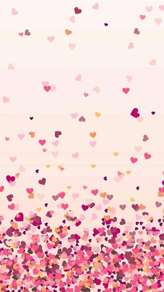 Love Everyone Pink Wallpaper Iphone Heart Wallpaper Tumblr