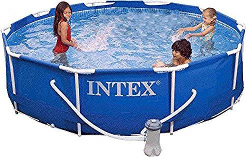 Intex Metal Frame Pool Set 10 Feet X 30 Inch In 2020 Intex Metal Frame Toy Chest