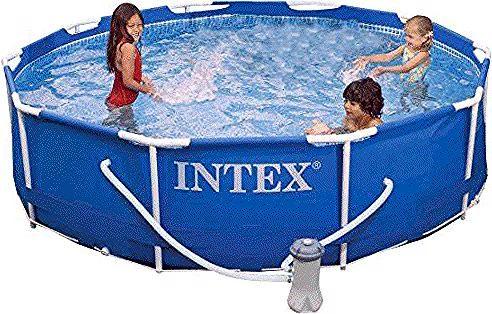 Intex Metal Frame Pool Set 10 Feet X 30 Inch In 2020 Intex Metal Frame Toy Chest