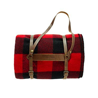 buffalo plaid and carrier. doesn't get better than this!