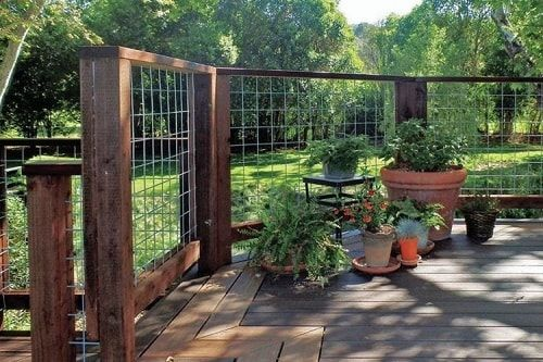 Pin By Neues Wohn Design On Gleedsville Fence Fence Design Backyard Fences Hog Wire Fence