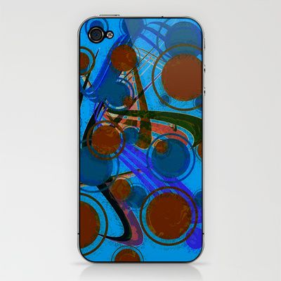 Points circulation iPhone & iPod Skin by LoRo  Art & Pictures - $15.00