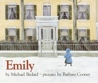 """Emily"" book by Michael Bedard & Barbara Cooney ... #LibraryLoans #EmilyDickinson #MountHolyokeCollege #RedSoxFansMakeBetterLovers #DirtyWater"