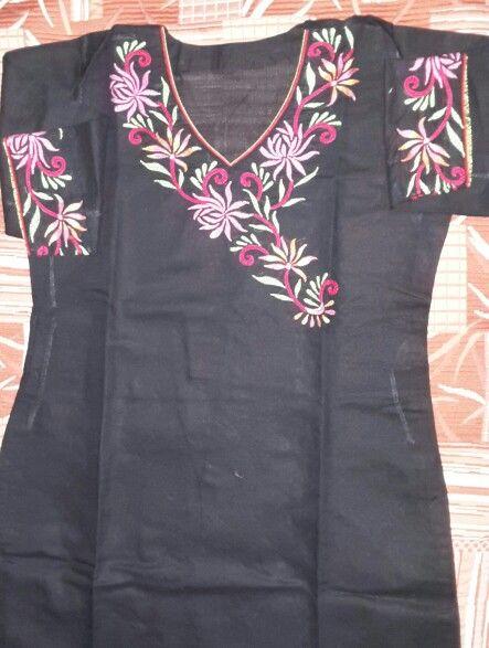 Herring Bone embroidery pattern