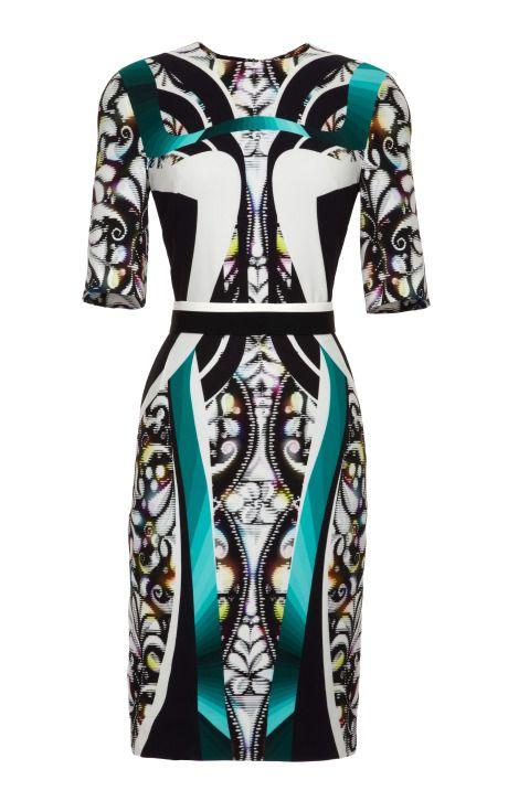 Green Eva Dress by Peter Pilotto Now Available on Moda Operandi