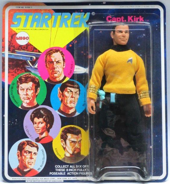 vintagetoyarchive:  MEGO: 1974 Star Trek CAPTAIN KIRK Action Figure