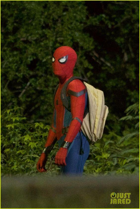 Homem-Aranha - Liberadas novas fotos do set de filmagens! - Legião dos Heróis