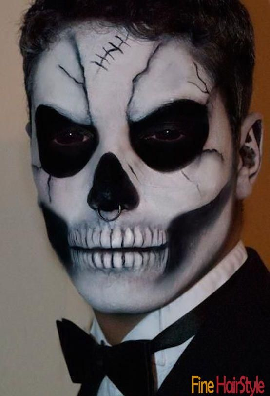 20 Halloween Makeup Ideas For Men Halloween Makeup