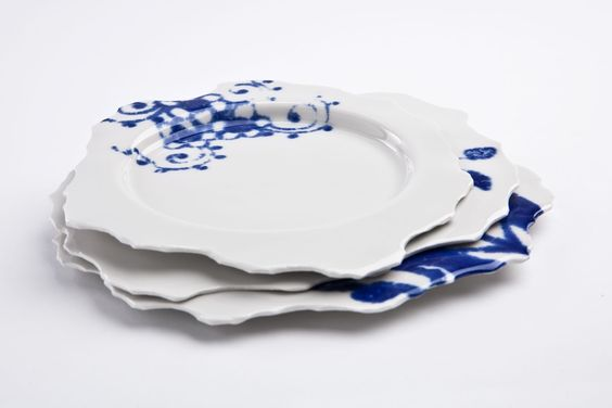 "Plate S ""Perfect Imperfect"" - Plates & Bowls - Content & Container by Pia Pasalk"