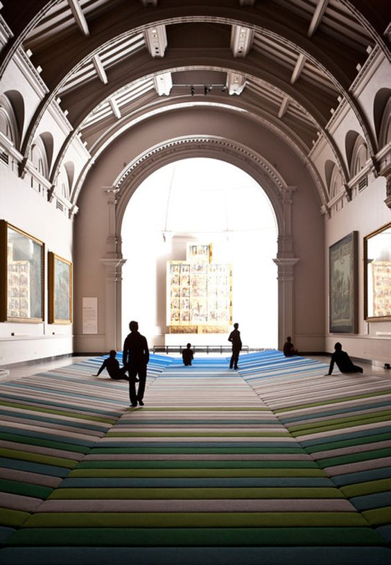 Les fr res bouroullec en ext rieur inspired design pinterest textiles - Les freres bouroullec ...