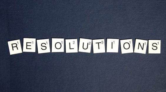 office resolutions - scrabble tiles