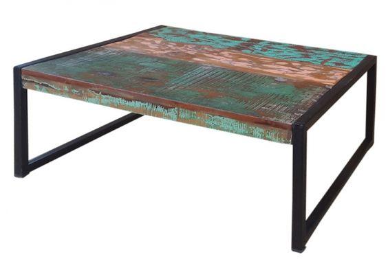 Industrie Esstisch aus Massivholz \/ Akazie Esstisch aus - esszimmer im ritterhof