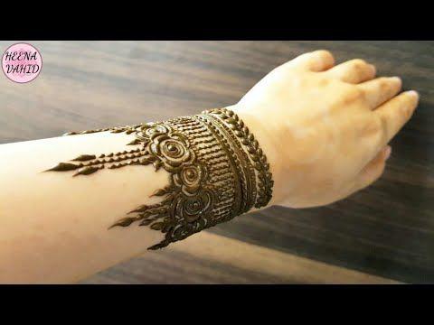 new bracelet mehndi design