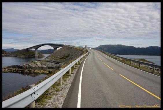 Atlanterhavsvegen, More Og Romsdal, Norway