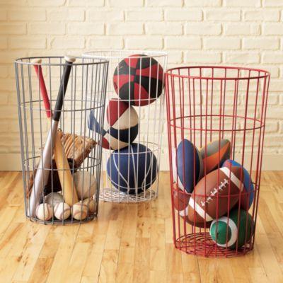 More storage baskets